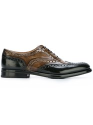 Church's Two Tone Brogues Black
