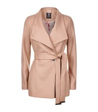 Ted Baker Elethea Short Wrap Coat Female Camel