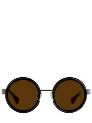 Linda Farrow Dries Van Noten Round Sunglasses