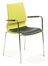 Knoll Gigi Stacking Arm Chair