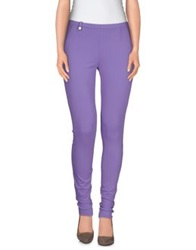 Pinko Black Leggings Lilac