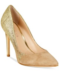 Charles By Charles David Pact Pumps Women's Shoes Nude Gold