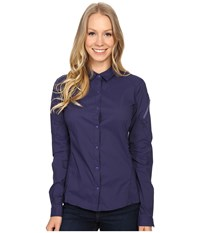 Arc'teryx Fernie Long Sleeve Shirt Marianas Women's Clothing Blue