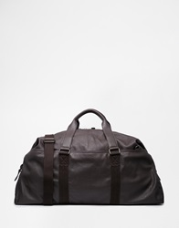 River Island Brown Slouchy Holdall Dkbrown