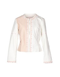Custo Barcelona Suits And Jackets Blazers Women Light Pink