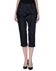 Burberry London Denim Denim Capris Women