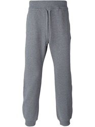 A.P.C. Drawstring Track Pants Grey