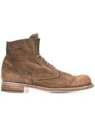 Officine Creative 'Hubble' Boots Brown