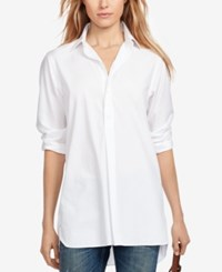 Polo Ralph Lauren Broadcloth Tunic White