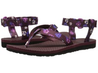 Teva Original Sandal Floral Satin Zinfandel Women's Sandals Brown