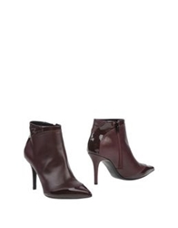 Lerre Ankle Boots Deep Purple