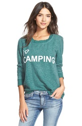 Chaser 'I Love Camping' Long Sleeve Pullover