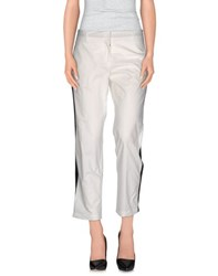 Nude Trousers Casual Trousers Women White
