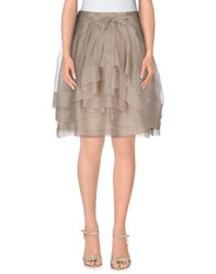 Etxart And Panno Skirts Knee Length Skirts Women Dove Grey