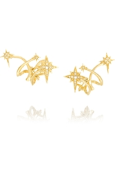 Venyx Lady Australis 18 Karat Gold Diamond Earrings