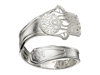 Alex And Ani Spoon Ring Silver Hand Of Fatima Ring