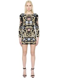 Zuhair Murad Embroidered Fitted Dress