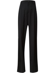 Y Project Flared Trousers Black