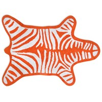 Jonathan Adler Zebra Bath Mat Orange