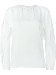 Sofie D'hoore Puff Sleeve Blouse White