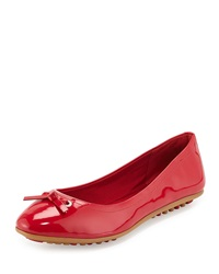 Juliet Escape Ballerina Flat Tango Red Cole Haan