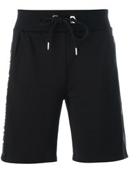 Philipp Plein 'Evening' Track Shorts Black
