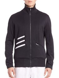 Y 3 Long Sleeve Track Jacket Black