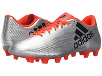 Adidas X 16.4 Fxg Silver Metallic Black Solar Red Men's Cleated Shoes