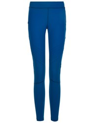 Monreal Teal Biker Sports Leggings Blue
