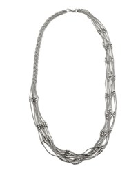 East Beaded Fine Chain Necklace