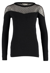 Naf Naf Yent Long Sleeved Top Black