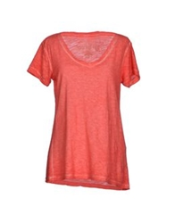 Timeout T Shirts Coral