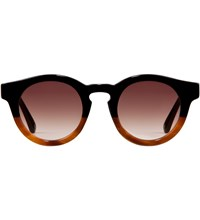 Sunday Somewhere Black Mid Brown Demi With Gradient Brown Lens Soelae Sunglasses