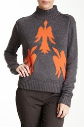 L.A.M.B. Bird Sweater Gray