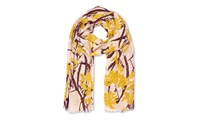 Whistles Lily Print Scarf Multicolour