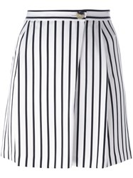 Mcq By Alexander Mcqueen Wrap Style Shorts White