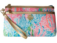 Lilly Pulitzer Toosie Wristlet Turquoise Lets Cha Cha Accessories Wristlet Handbags Blue
