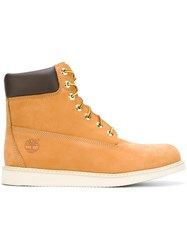 Timberland 'Newmarket' Boots Yellow And Orange