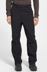 Men's Zero Restriction 'Stealth' Waterproof Gore Tex Pants Black Metallic Silver