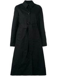 Christophe Lemaire Classic Overcoat Black