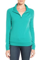 Vineyard Vines Women's Wool And Cashmere Quarter Zip Pullover