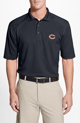Cutter Buck 'Chicago Bears Genre' Drytec Moisture Wicking Polo Big And Tall Navy Blue