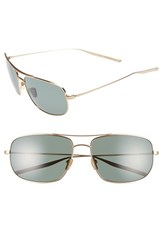 Men's Salt 'Tompkins' 60Mm Polarized Sunglasses Honey Gold Grey