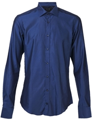 Sand Two Color Sportshirt Blue