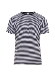 Sunspel Striped Cotton T Shirt