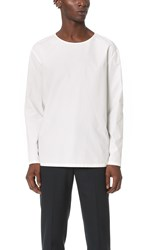 Christophe Lemaire Long Sleeve Pullover Chalk