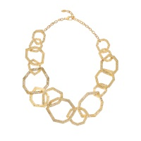 Isharya Link Statement Goddess Necklace