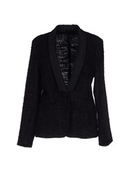 Tombolini Suits And Jackets Blazers Women Black
