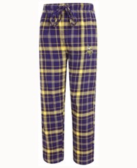 Concepts Sport Men's Minnesota Vikings Ultimate Flannel Sleep Pants Purple