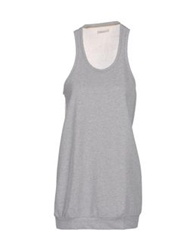 Soho De Luxe Short Dresses Light Grey